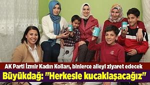 AK Parti İzmir Kadın Kolları, Ramazan ayında 10 bin 492 aileyi ziyaret edecek