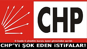 CHP'yi Şok Eden İstifalar!