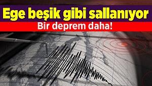 Ege Bölgesi'nde depremler devam ediyor