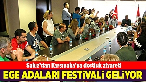 Ege'nin iki yakası festivalde buluşacak