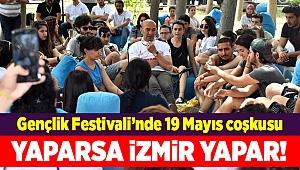 Gençlik Festivali'nde 19 Mayıs coşkusu