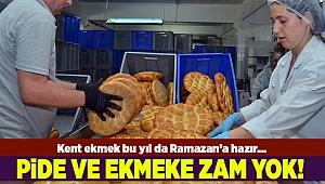 İzmir Büyükşehir Kent Ekmek bu yıl da zam yapmadı...
