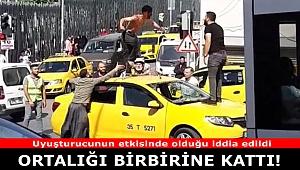 İzmir'de bir genç ortalığı birbirine kattı