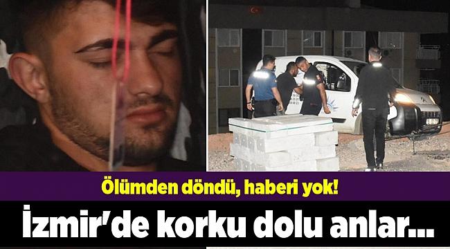 İzmir'de korku dolu anlar...