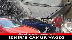İzmir oto yıkamacılarında 'çamur' yoğunluğu