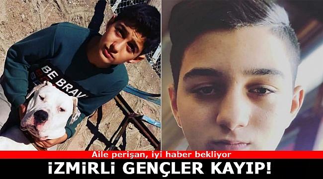 İzmirli Gençler Kayıp!