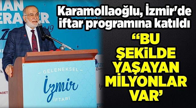 Karamollaoğlu, İzmir'de iftar programına katıldı