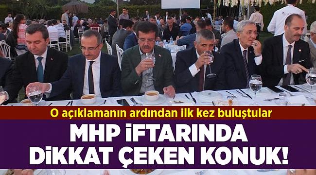 MHP'nin iftarına Zeybekci de katıldı