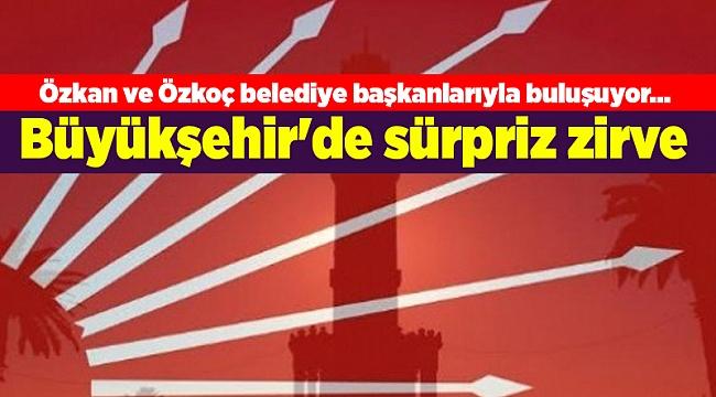 Özkan ve Özkoç belediye başkanlarıyla buluşuyor... Büyükşehir'de sürpriz zirve