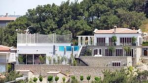 Ünlü futbolcunun Çeşme'deki villası tamamlandı