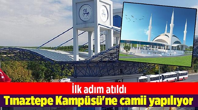 Dokuz Eylül Tınaztepe Kampüsü'ne camii yapılıyor