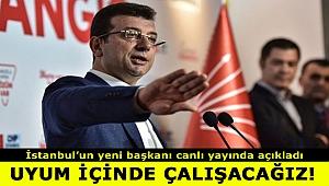 Ekrem İmamoğlu'ndan İstanbul seçim sonuçlarına ilişkin ilk açıklama