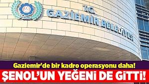 Gaziemir'de bir kadro operasyonu daha!