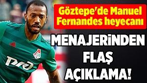 Göztepe'de Manuel Fernandes heyecanı