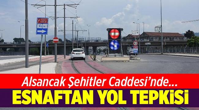 İzmir Alsancak esnafından yol tepkisi
