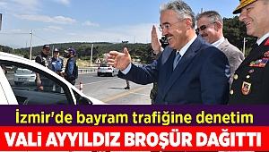 İzmir'de bayram trafiğine denetim