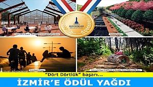 İzmir'e ödül yağdı