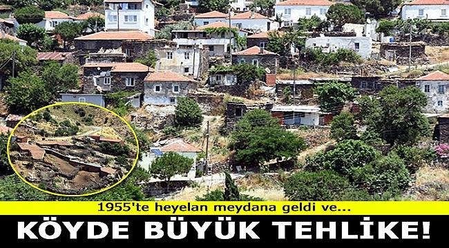 İzmir'in o köyünde büyük tehlike