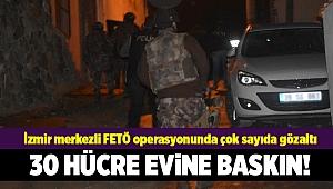 İzmir merkezli 4 ilde FETÖ operasyonu: 33 gözaltı