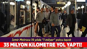 İzmir Metrosu 19 yılda