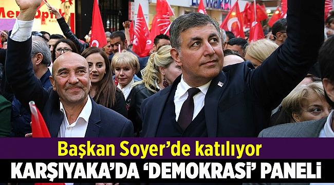 Karşıyaka yerel yönetimde demokrasiyi konuşacak