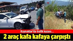 Kaynaklar'da trafik kazası…