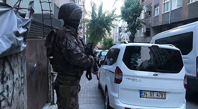 Şafak vakti helikopter destekli narkotik operasyonu: 35 gözaltı