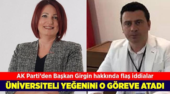 AK Partili Avcı: CHP'li başkan belediyeye akrabalarını atadı