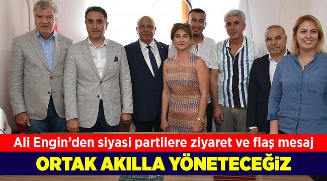 Ali Engin'den siyasi partilere ziyaret ve flaş mesaj