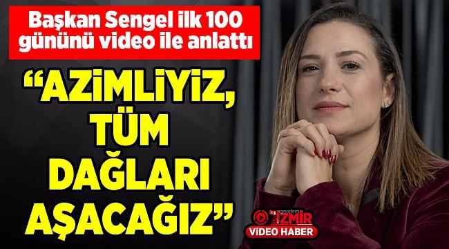 Başkan Sengel ilk 100 gününü video ile anlattı