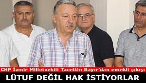 CHP'li Bayır: