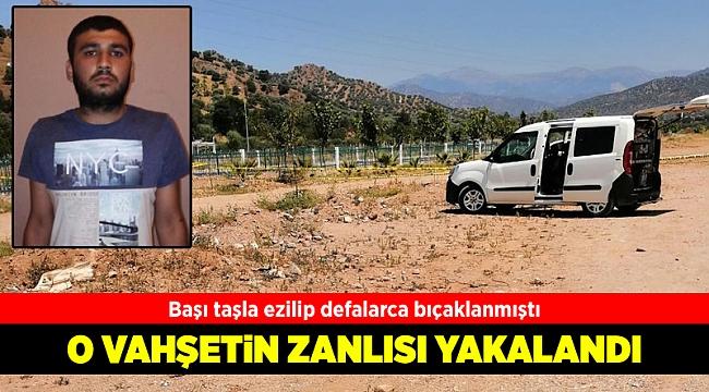 Cinayet şüphelisi İzmir'de yakalandı