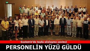 Gaziemir Belediyesi'nde toplu sözleşme sevinci