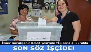 İZENERJİ işçileri TİS için oylama yaptı