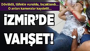 İzmir'de pompalı, bıçaklı saldırı...