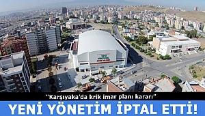 Karşıyaka'da imar iptali