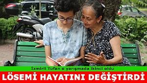 Lösemi, İzmirli Tufan'ın hayatını değiştirdi...