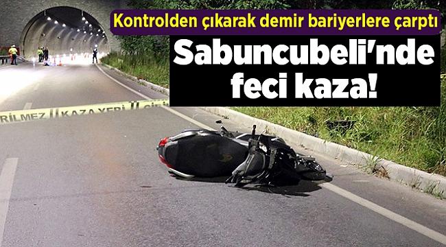 Sabuncubeli'nde feci kaza!