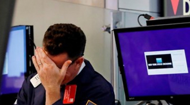 ABD borsaları sert düştü