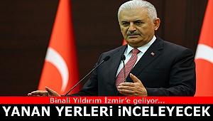 """Binali Yıldırım bugün İzmir'e geliyor: """"Yanan yerleri inceleyecek"""""""