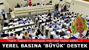 Büyükşehir Meclisi'nden Yerel Basına Destek Kararı