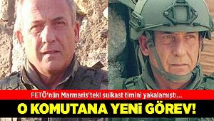FETÖ'nün Marmaris'teki suikast timini yakalayan komutana yeni görev