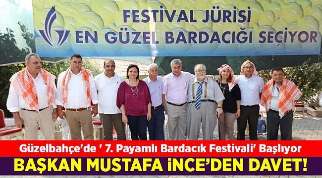 Güzelbahçe'de ' 7. Payamlı Bardacık Festivali' Başlıyor