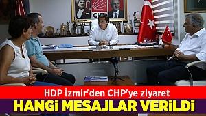 HDP İzmir'den CHP'ye ziyaret