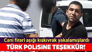 İngiliz kadından Türk Polisi'ne teşekkür
