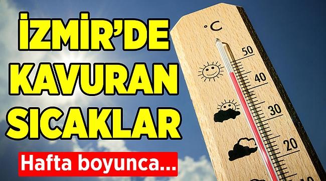 İzmir'de hava durumu(19-23 Ağustos 2019)