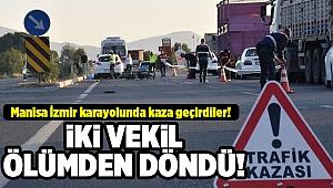 İzmir'de kaza: AK Partili iki milletvekili yaralandı