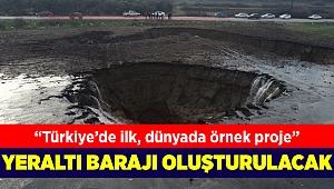 İzmir'de oluşan dev düdenler için proje