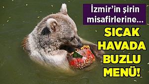 İzmir'in misafirleri buzlu menülerle serinliyor