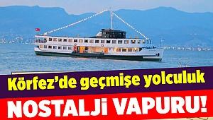 İzmir Körfezi'nde nostaljik vapur turu...